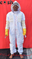 Semi Ventilated Mesh 3 Layer Beekeeping Suit Fencing Style Veil Supplier