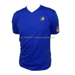V-neck t-shirt 155 gsm/ m2, 30/1, 100% Peruvian pima cotton