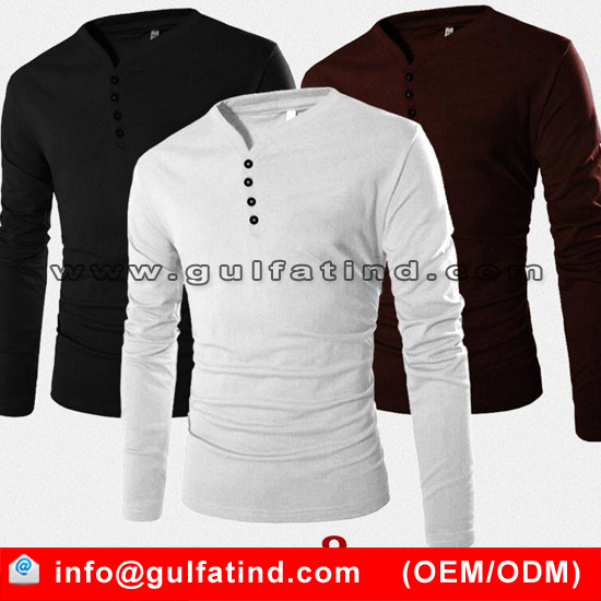 upcoming fashion men's t shirts long sleeve t shirt 100% cotton t shirt
