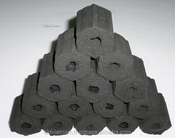 NATURAL BAMBOO BRIQUETTES CHARCOAL FROM VIETNAM