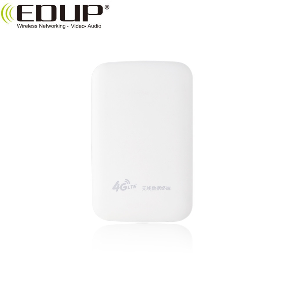 EDUP 2100Mah Router 4G LTE WiFi Pocket Hotspot 4G Wireless Mobile Mifis