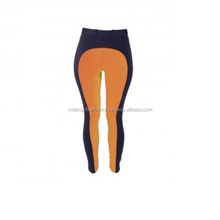 Ladies Two Tone Jodhpurs Breeches in Navy and Orange Colour - Indian Global Trade