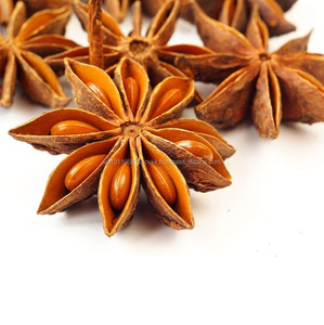 Star Anise, White Pepper, Black pepper, Capsicum, chili, spices, herbs, grains, seeds