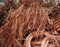 hot selling export high quality high purity 99.99 pure copper mill-berry wire material copper scrap for sale