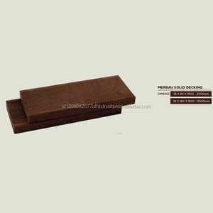 HOT PRODUCTS HIGH QUALITY MERBAU WOOD SOLID OUTDOOR DECKING FLOORING FROM INDONESIA