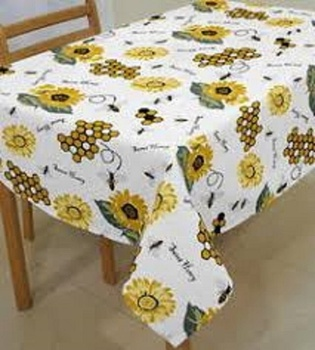 Cotton Table Cloth with Good Quality from India