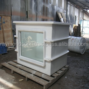 Rectangular Tank L 4ft x W 3ft x H 3ft = USD 260 / Unit