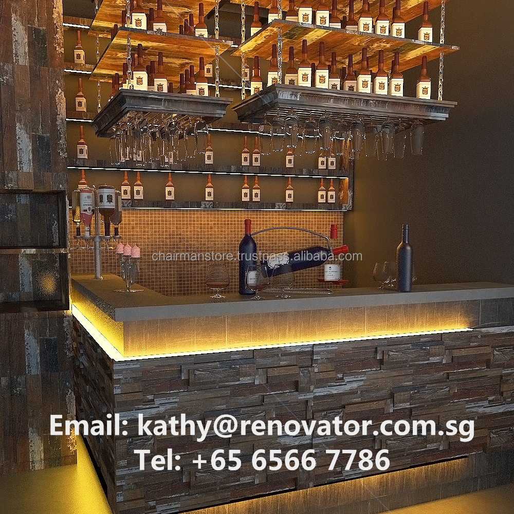 Bar/ Restaurant/ F&B Outlet Interior Design 3D Visualization Drawing Service