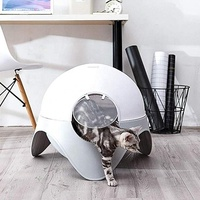 Best Pet Cleaning Product like Space Capsule for Cat Clean up Automatic Cat Litter Box Toilet