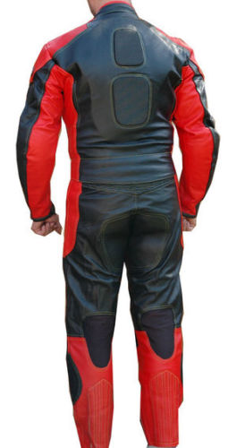Customized Mens Professional Motorbike Leather Suit.Best Quality Custom Natural