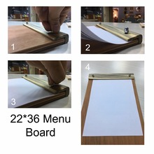 Wooden High Quality Best Price Menu Board For Restaurant