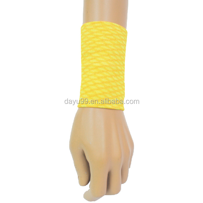 Sporting Wrist Support Space-dyed wrist compression device Made in Taiwan