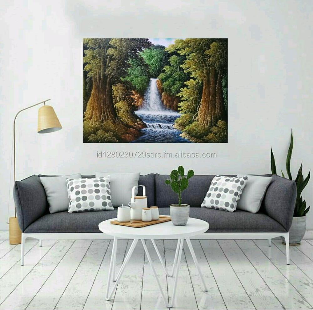 Waterfall Painting - Home Decoratio