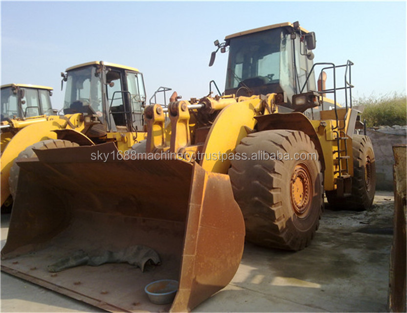 cheap price caterpillar front loader 980G/ original japan condition loader 980g, new model new tyre,3306 engine