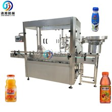 plastic bottle small filling machine, juice filler and capper for bottling