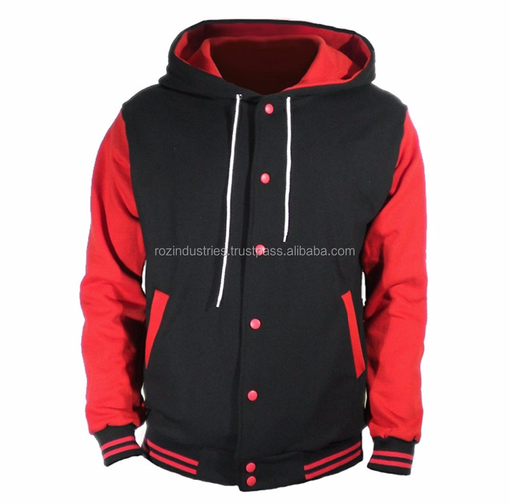 Custom Printed Varsity hoodies The Tshirt Bakery