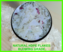 HDPE FLAKE ( natural / red / green / blue / black )