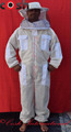 Fully Ventilated Mesh 3 Layer Bee keeping Suit Round Style Veil Supplier
