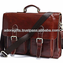 latest design leather laptop bags / new model genuine leather bags from india / new arrival 2017 fashion laptop leather bags