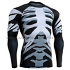 wholesale rash guard with skull sublimation Top Quality Rash Guard for men Pakistan