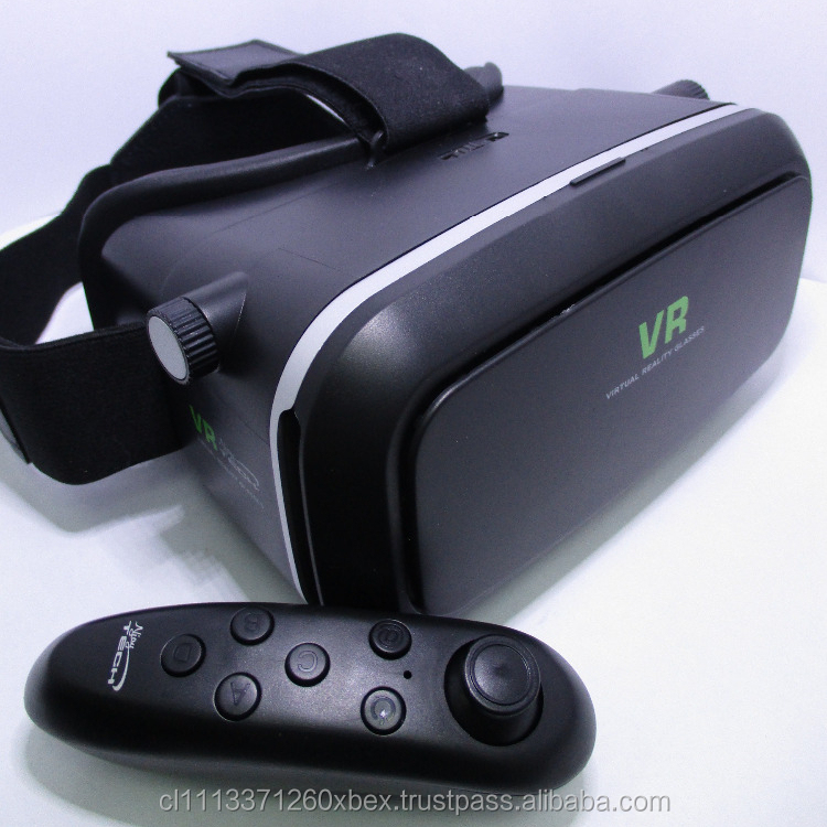 KIT 3IN1 VR GLASSES 3R GENERATION BLUETOOTH GAMEPAD VR APPS