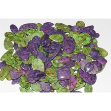 HIGH QUALITY WEB DESIGN PURPLE AND GREEN COPPER TURQUOISE STONE WHOLESALE LOOT LOOSE GEMSTONE