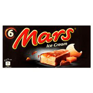 Mars Ice Cream 6 X 51Ml