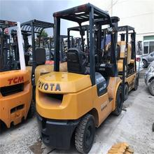 2 Satge Mast Toyota Used Forklift 7FD30 7FD25 7FD50 Reasonable Price Import From Japan