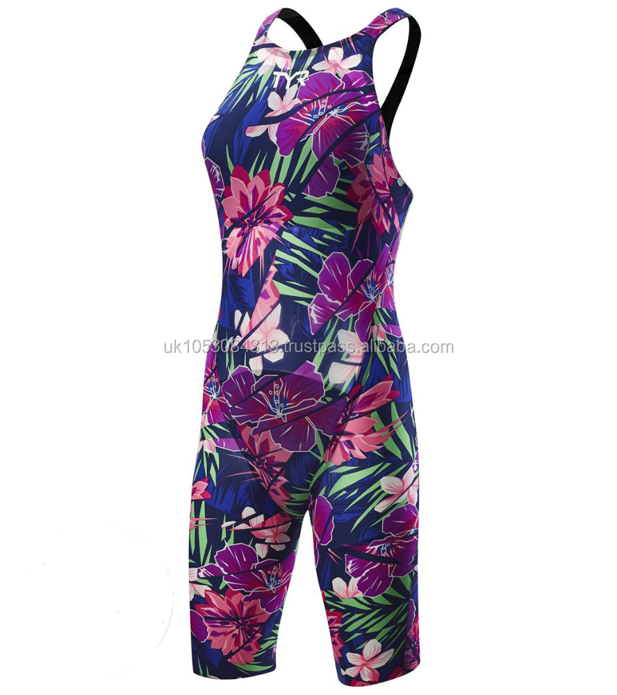 Women's Limited Edition Lava Closed Back Tech Suit Swimsuit