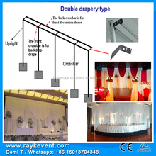 High Quality Pipe Drape stage light frame backdrop stand