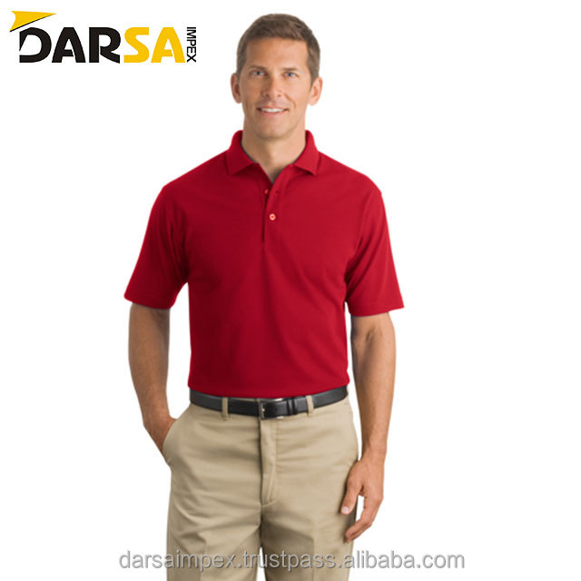 Golf polo shirt for men 100% cotton custom logo dri fit oem new