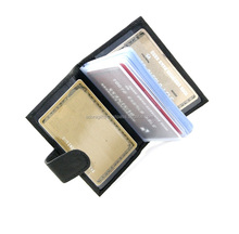 Miscellaneous Pockets Leather Business Cardholder / Leather Bulk Business Card Holder Professional Card Holder