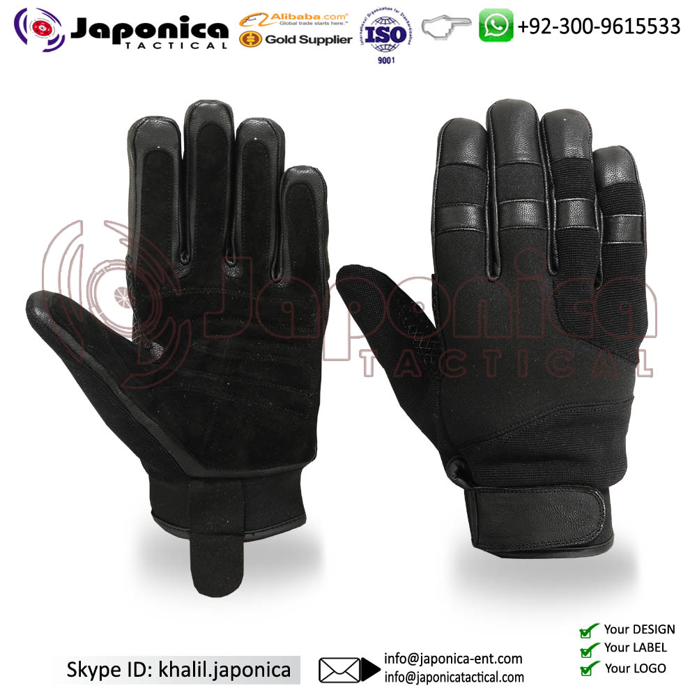 Cut Resistant Tactical Gloves Police Duty Gloves Weapon Handling Military Gloves