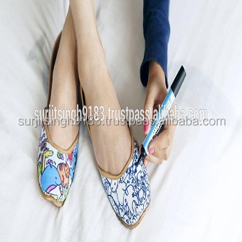 New Design Indian Handmade Emembroidery juti shoes