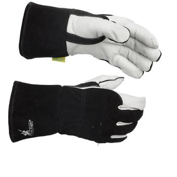 Weldas Arc Knight MIG Stick Welding Glove, made with Kevlar 100% Cotton Lining