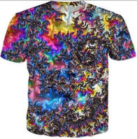 Sublimation T Shirt Wholesale Dye Sublimation Black T Shirt/ High Quality OEM Design Men Clothing 3D Sublimation T Shirts