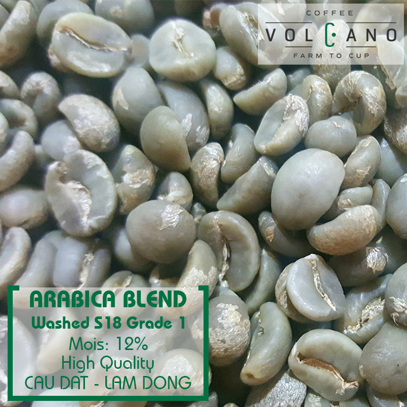 Arabica Organic Ground Green Coffee Beans for Sale