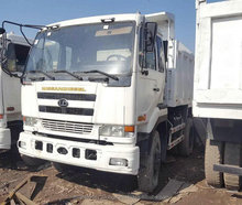 Second Hand Nissan UD Diesel Dump Tipper Truck with low price for sale