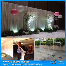 Back drape for wedding party tents for wedding backdrop stand