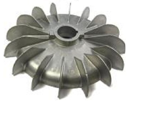 Cooling Fan Aluminium for Motor