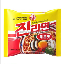 Jin Ramen Hot Spicy Noodles spicy flavour Ottogi red instant noodle korean ramen
