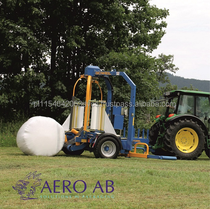 Silage wrap Elite Wrap 750mm/25mic/1500m European manufacturer Wrapping silage hay bale agriculture agrostretch high quality