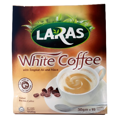 LARAS White Coffee with Tongkat Ali and Maca