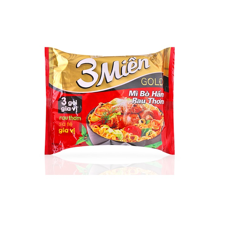 Instant Noodles With Stew Beef And Herbs Flavor For Sale