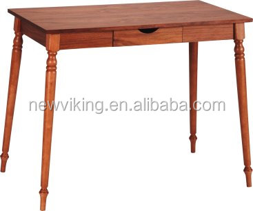 Rubber wood legs Wooden End Table