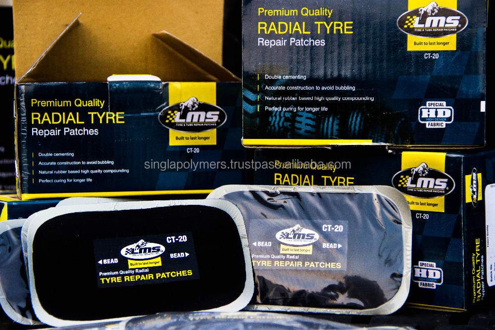 Tyre/tire repair vulcanizing /radial and bias patch