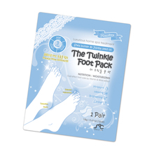 The Twinkle Foot Pack / sock style foot mask / moisturizing & heating