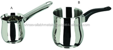 Stainless Steel Indian Coffee Warmer/ Milk Pot