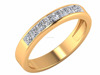 Engagements Ring Is The First Link Of A Vicious Chain 18k Yellow Gold Natural Certified Diamond Beautiful Ring For Daily Wear