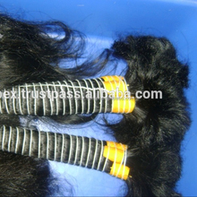 9A Quality remy bulk human hair from india.Unprocessed 100% Human Virgin Remy Natural Wave Wholesale Top Indian Hair Bulk